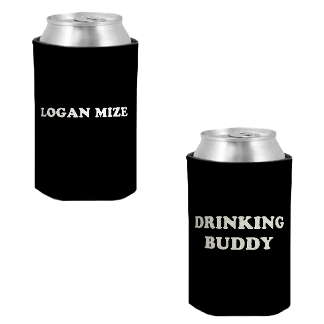 Logan Mize Black Drinking Buddy Coolie