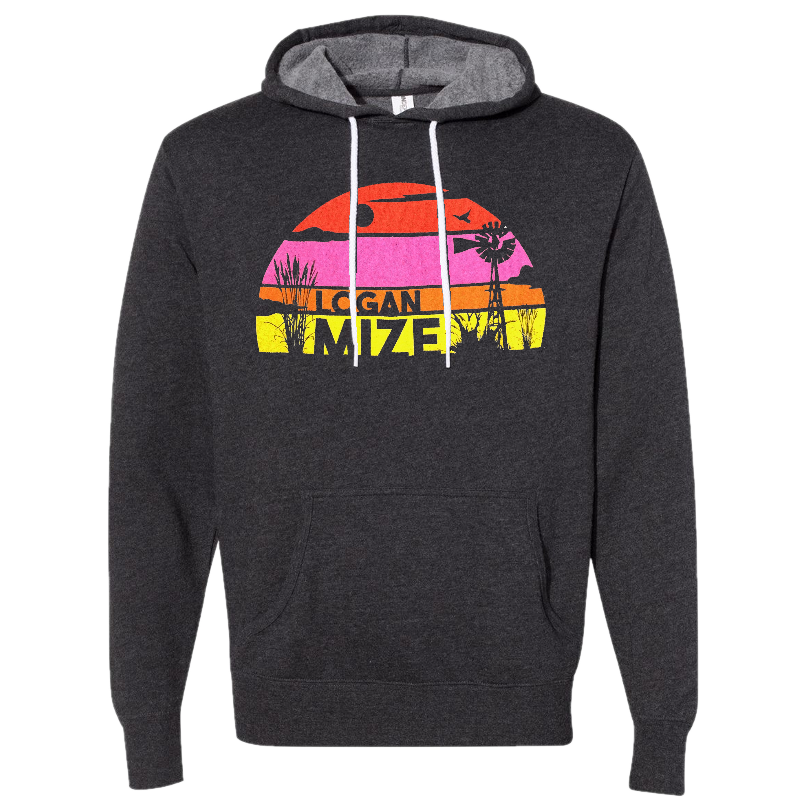 Logan Mize Retro hoodie
