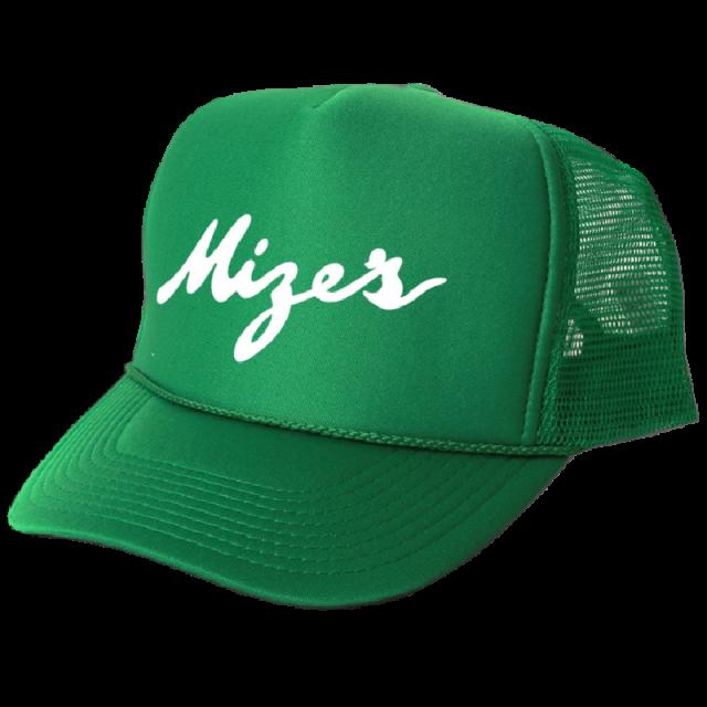 Logan Mize Green Trucker Hat
